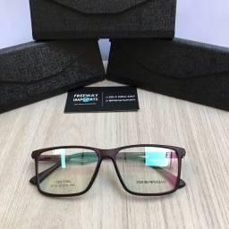 Óculos Armani Café armação Resistente