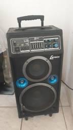 Caixa amplificada 200w Lenoxx