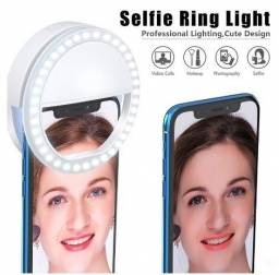 Mini Ring Ligth Para Fotos Selfie e Vídeos Para Celular