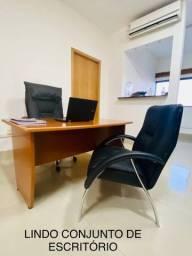 Título do anúncio: Conjunto Completo de Escritório (Cadeiras e Mesa)