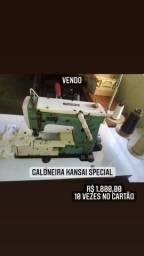 Máquina de costura Galoneira industrial kansai special