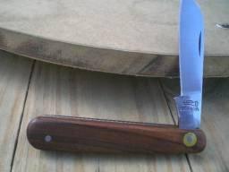 Antigo Canivete Corneta Talas Em Jacarandá
