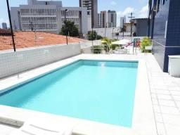 Apartamento de 1 quarto mobiliado com piscina