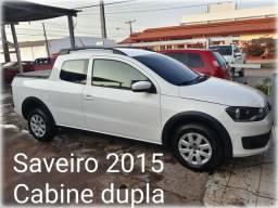 Saveiro 2015 Cabine dupla trendline A Mais Barata da Olx 40,900 - 2015