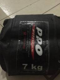 Pesos para pernas 7kg - Desapega