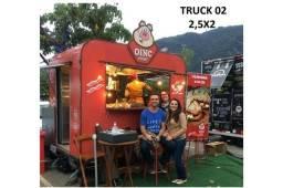 Vendo trailler food truck funcional e charmoso