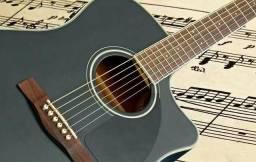 Aulas particulares de violão, baixo e guitarra