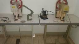 Máquina d acabamento de diz