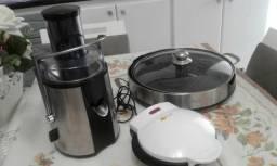 Omeleteira, Centrífuga + churrasqueira Funkichen