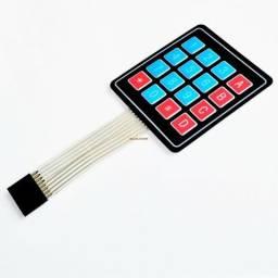 Teclado De Membrana 4x4 Matrix 16 Chaves arduino