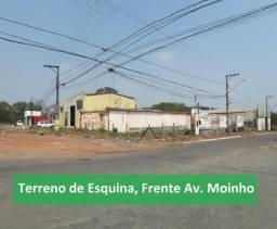 Alugo terreno + barracao na estrada do moinho (area total de 1.050 m²)