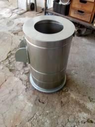 Vendo descascador de batata industrial 15 kl completo de inox