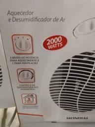 Vendo aquecedor desumidificador