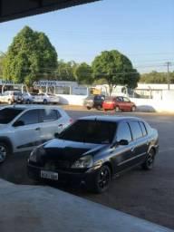 Renault Clio 1.6 16v 06/06 K4M Sedan Preto - 2006