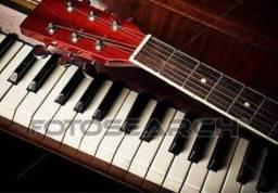 Aulas de canto, violão popular e clássico, teclado e piano musicalização infantil