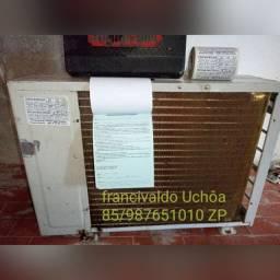 Ar condicionado 9 BTUs com instalação e sem instalação vendo