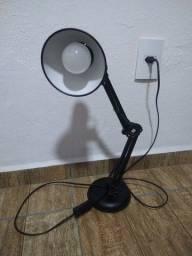 Luminária Articulável 60cm de altura