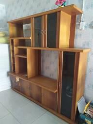 Vendo estante e estante barzinho em madeira boa
