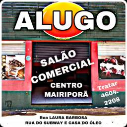 Alugo Salão comercial centro Mairiporã
