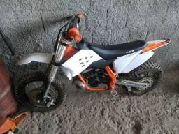 Vendo mini mxf 50cc motor 2t