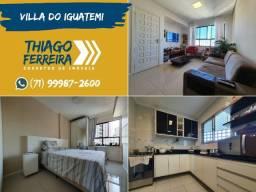 Villa Iguatemi, apartamento de 3 quartos nascente em 93m²