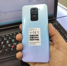 Celular Xiaomi Redmi Note 9 - 128GB Rom / 4GB Ram - Versão Global + Capinha e Película