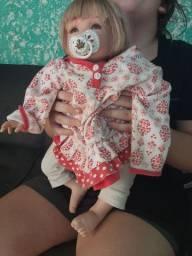 Bebê reborn de pano
