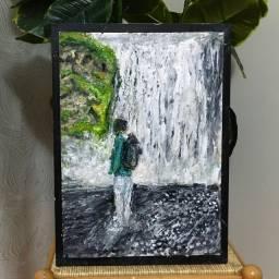 Pintura/quadro mochilão