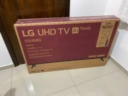 Smart tv 50 polegadas LG 2020 4k nova