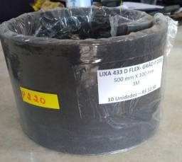 Lixa grão P 220 com 10 unidades