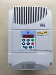 Inversor De Frequência Weg 7,5cv 380v Cfw08