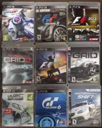 Jogos de corrida PS3 50,00 qualquer um
