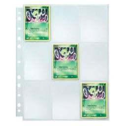 10 Folhas para fichário 9 bolsos yes Cards