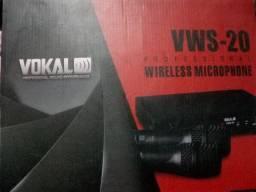 Microfone sem fio - vokal vws-20
