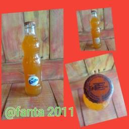 Antiga garrafa Fanta 2011 lacrada