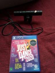 Câmera Sony Ps4 + Just Dance 2020
