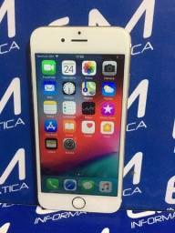 Hoje Iphone 6s 64GB Dourado - Seminovo - Com Garantia- loja Niterói