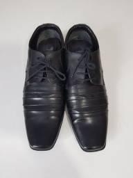 Sapato social preto - usado uma vez