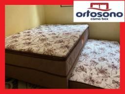 Bicama casal de mola, super confortável. entrega gratis(bicama bi camas bicamas)