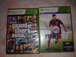 Vendo jogo de Xbox 360 original os dois por 100
