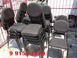 Cadeira giratória ou fixa temos com garantia e nota fiscal a partir de 110,00