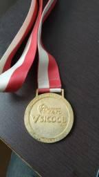 Medalha campeonato mineiro 2017