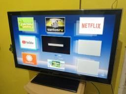 Tv Panasonic 32 smart via cabo, pega Netflix you tube faço entrega só 599