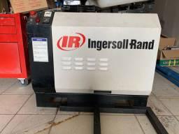Compressor parafuso+ cilindro de ar comprimido 500L schulz + linha de ar