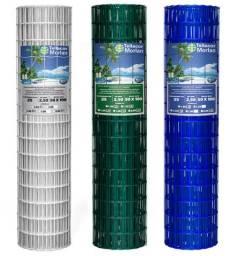 Cerca - TelaCor - Resvetimento em PVC- 05 Anos de Garantia