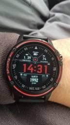R$ 239 Relógio Smart Watch Sport L8 Monitor Cardíaco, Mede pressão