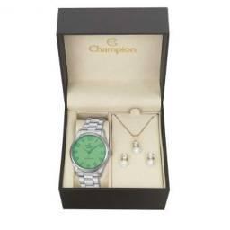 Kit Relógio Feminino Analógico Champion Original - Comprando dois cada um R$ 100,00