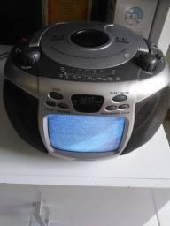 Radio com cd e tv