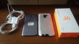 Vendo Samsung J6 semi-novo 32GB