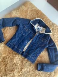 Jaqueta jeans dupla facee estravaganzza